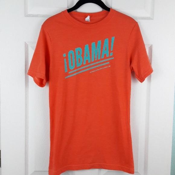 royal apparel Tops - 2012 Barack Obama Latinos T-Shirt Sz. S
